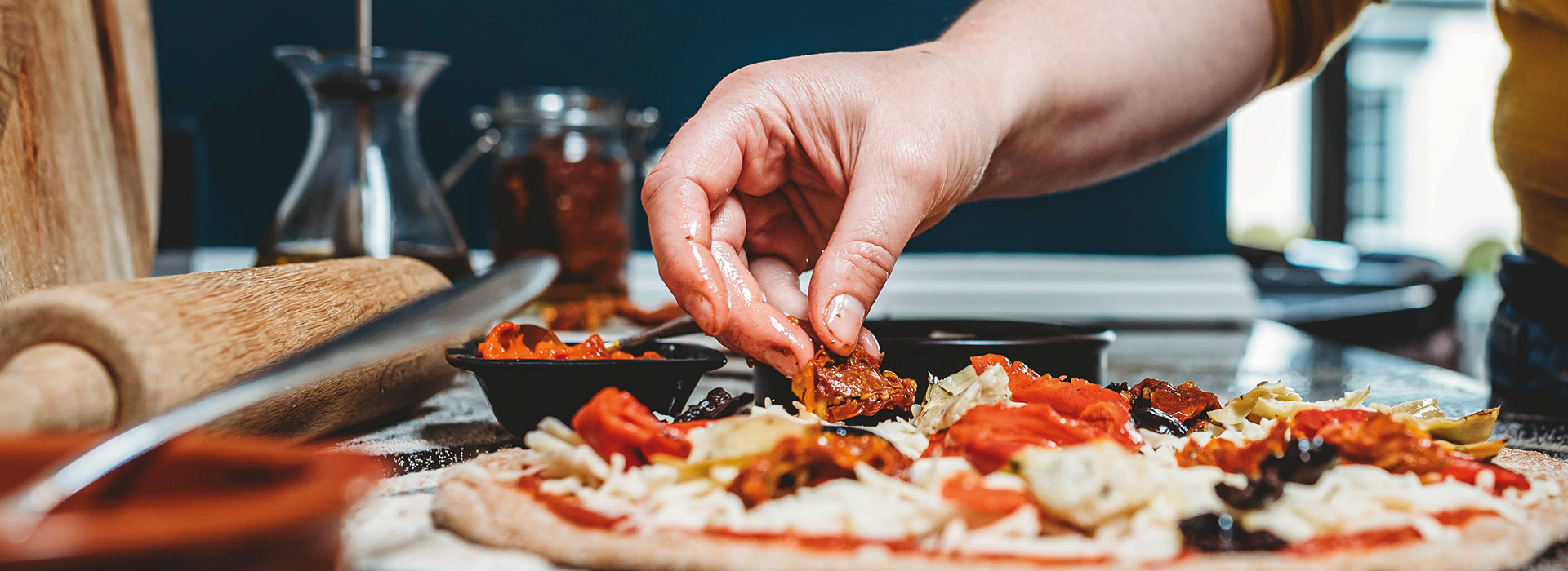 Make the Ultimate Homemade Pizza